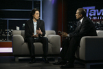 Paul K. Chappell with Tavis Smiley