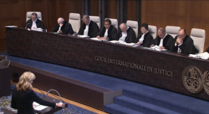 Laurie Ashton at the ICJ