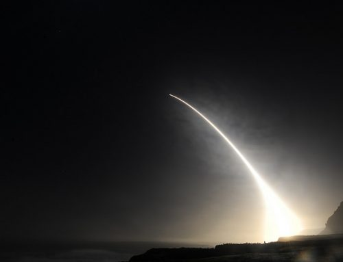 Minuteman III Missile Test Launched from Vandenberg