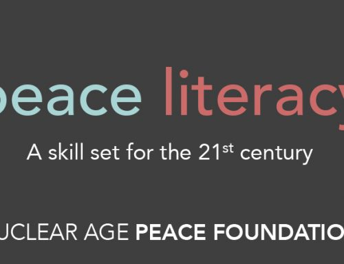 Peace Literacy: A change of paradigm for the promotion of a culture of peace