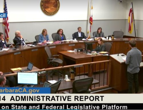 Santa Barbara City Council Passes Revised Legislative Platform Supporting the Prohibition of Nuclear Weapons